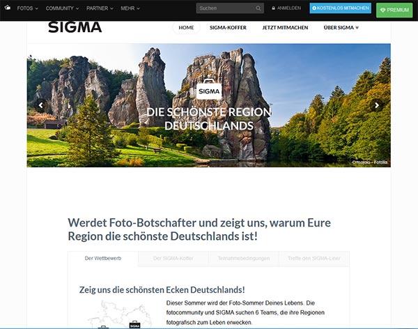 Wettbewerb Fotocommunity Sigma